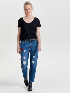 Only Tonni Boyfriendjeans für 49,99€. Boyfriend-Jeans mit Normal Waist,.  OTTO 9422edcfab
