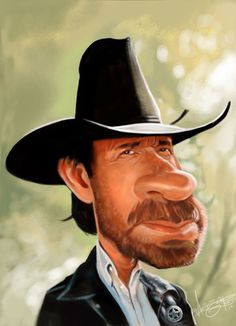 Chuck Norris by borishev.deviantart.com