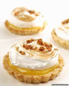 This delicious dessert recipe is courtesy of Matt Lewis. Use the tart shells for his Lemon-Almond Meringue Tart.