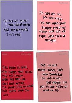 Ed Sheeran's lyrics make my heart melt