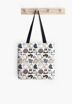 Soft polyester canvas shopping bag with edge-to-edge print on both sides. Fully lined for extra strength. Three sizes to choose from. Printed Tote Bags, Cotton Tote Bags, Reusable Tote Bags, Adult Coloring Book Pages, Small Arm Tattoos, Iphone Wallet, Pet Supplies, Cat Lovers, Shopping Bag