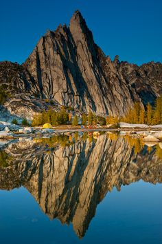 Alpine Lake Wilderness including the  Wenatchee National Forest and Snoqualmie National Forest in Washington state.