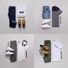 """232 Likes, 10 Comments - Capsule Wardrobe Guide For Men (@capsulewardrobemen) on Instagram: """"It's almost impossible to go wrong with these basics. . . . If you are struggling to build a…"""""""