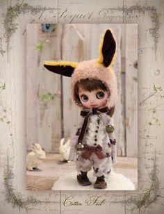 ◆ Cotton Tail ◆ 今年も元気にぴょんぴょんピョン!! そばかす野うさぎちゃん カスタムミディブライス _画像4 Ooak Dolls, Blythe Dolls, Pretty Dolls, Doll Accessories, Amanda, Doll Clothes, Barbie, Auction, Miniatures