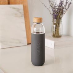 Remember the Soma Water Filter, a beautiful, sustainable water filter that delivers crisp, clean water, with minimalist good looks? Now the brand has gone beyond the pitcher with this new water bottle. The Soma Bottle is focused on sustainabilit