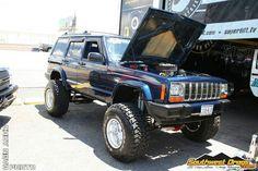 Jeepys: Jeep XJ, Jesus look at the engine
