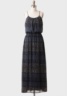 Lenora Printed Maxi Dress at #Ruche @Ruche