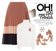 """""""oh pretty nude"""" by arainaisna on Polyvore featuring Gucci, Miss Selfridge and Gianvito Rossi"""