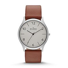 Jørn Men's Leather Watch