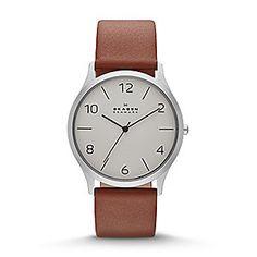 Jørn Men's Leather Watch