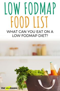 If you've been advised to follow a FODMAP elimination diet, a low FODMAP food list can make your life much easier. Below, we've organized a comprehensive list of both foods to enjoy and foods to avoid when following a low FODMAP diet. #health #Lowfodmap #foodlist #nutritionist Fodmap Elimination Diet, Fodmap Diet, Low Fodmap Food List, Fodmap Recipes, Healthy Recipes, Vegetarian Protein, Foods To Avoid, Natural Health Remedies, Diet Meals