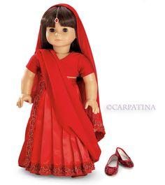 Indian Sari Doll Outfit