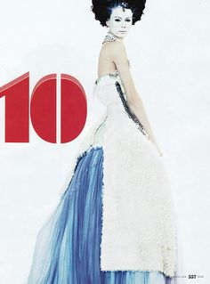 """""""The Grande Dame"""" - Mia Rosing in Dolce & Gabbana - """"10 Women On The Verge"""" US Elle Sept 2008   by Winter Phoenix"""