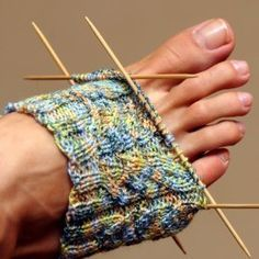 This is a guide about knitting socks. One of the most popular things to knit is socks. You get to pick the yarn fiber content, color, weight, and can adjust the pattern for a custom fit. Hand knit socks are also a great gift idea.