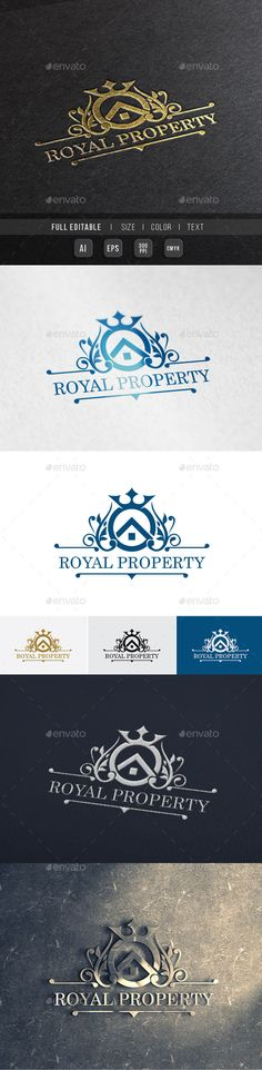 Elite Property  Royal House — Vector EPS #house #wedding • Available here → https://graphicriver.net/item/elite-property-royal-house/9994182?ref=pxcr