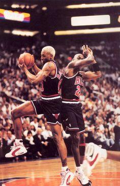 Rodman and MJ