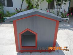 Insulated Dog House, Dog Houses, Shed, Outdoor Structures, Dogs, Pet Dogs, Dog Kennels, Doggies, Barns