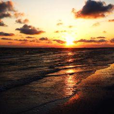 • gulf sunset :) •