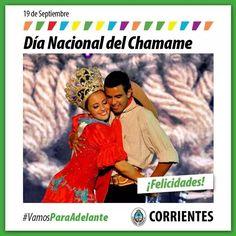 Feliz Día del Chamame Corrientes #VamosParaAdelante