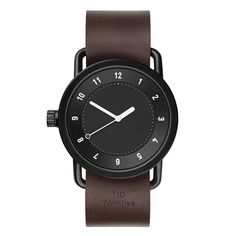 Black No.1 Military Wristwatch by TID