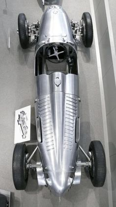Auto Union Type C Grand Prix silver 1936 ho