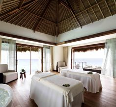Jumeirah Vittaveli Resort, Maldives - The VIP Ocean Suite at the Talise Spa