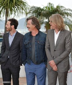 Scoot McNairy, Ben Mendelsohn, director Andrew Dominik at the KILLING THEM SOFTLY Photocall during the 65th Annual Cannes Film Festival at Palais des Festivals on May 22, 2012 in Cannes, France. (photo Gareth Cattermole) - Edited
