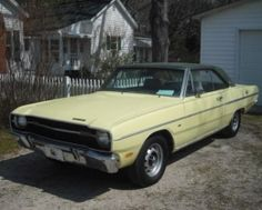 Ideal Yellow 1969 dodge swinger can