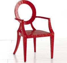 Updated Louis Chair, Red - modern - chairs - Wisteria
