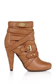 Mulberry | Postmans Lock Ankle Boot by Mulberry - StyleSays