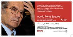 Adolfo Peréz Esquivel  EURAC 6th June 2009