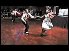 Aaron & Kelly - Rock n Roll Dance Comp - YouTube