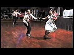 Aaron & Kelly - Rock n Roll Dance Comp - YouTube