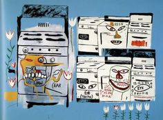 Jean-Michel Basquiat Andy Warhol collaboration pop art graffiti painting Max Roach
