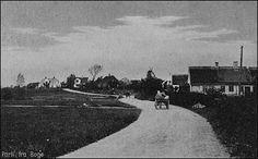"""Bogø set gennem Møns Folkeblad i 1929. Den 18. september kan Dampskibsselskabet """"Stubbekøbing"""" præsentere sin nye færge GRØNSUND. Prøvetur går fra Stubbekøbing til Hårbølle – i modvind og stærk strøm – og varede 40 minutter. Færgen havde da rundet Grønsund, Falster og derfra over til Hårbølle tog det 12 minutter. I Hårbølle blev gjort et lille ophold, for at hilse på Mønboerne, medens de sagkyndige benyttede tiden til opmåling af Færgelejerne. Bogø Tidende 2/12-2009"""