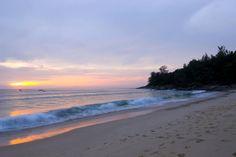 Sunset at Nai Thon Beach.