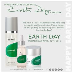 Did you know...? Image Skincare products are paraben-free, petrochemical-free, vegan friendly, cruelty-free, contain no artificial colors or dyes, and are 100% fragrance-free? We also print using soy-based ink on recyclable & biodegradable packaging. Image Skincare celebrates Earth Day every day!