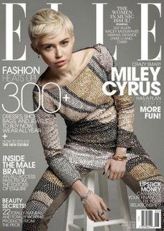 Miley Cyrus habla sobre Disney y Liam Hemsworth en Elle Magazine