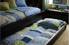 Farmhouse Daybed with Trundle