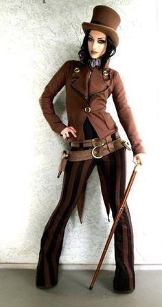 DevilInspired Steampunk Dresses: Fashion Steampunk Coat for Women