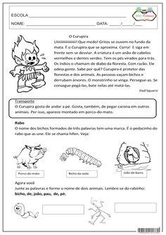 Folclore, Dicas de portugês