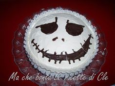 Torta Jack Skellington… for a Birthday before Christmas! Jack Skellington Cake, Holiday Recipes, Holiday Foods, Love Cake, Nightmare Before Christmas, Trick Or Treat, Birthday Cake, Sweets, Cookies