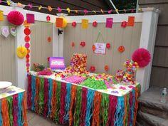 Glam Luau Birthday Party Ideas | Photo 13 of 42 | Catch My Party