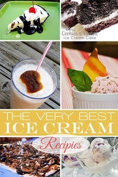 The BEST Ice Cream Recipes howdoesshe.com #icecream