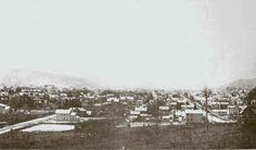 Birds Eye View of Titusville, PA 1896
