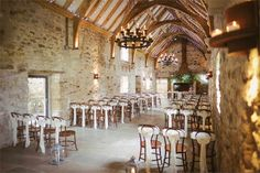 This barn wedding venue has one of the most romantic ceremony rooms in the North East of England. The charming brick walls give Healy Barn all the characteristics of a traditional barn whilst the modern features such as underfloor heating and adorable fairy lights give it the 21st century element which we just love.