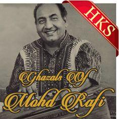 Ghazals karaoke Songs :-  SONG NAME - Jab Tere Pyaar Ka Afsana Likha  MOVIE/ALBUM - Non Film Ghazal  SINGER(S) - Mohd. Rafi