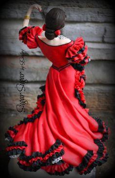 Flamenco Dancer by Sandra Smiley