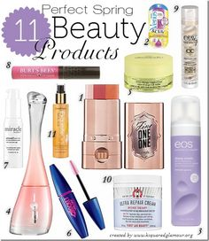 11 Perfect Spring Beauty Products