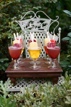 Popsicle Cocktails!  #drinks #cocktails